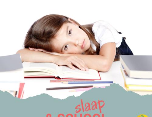 slaap en school